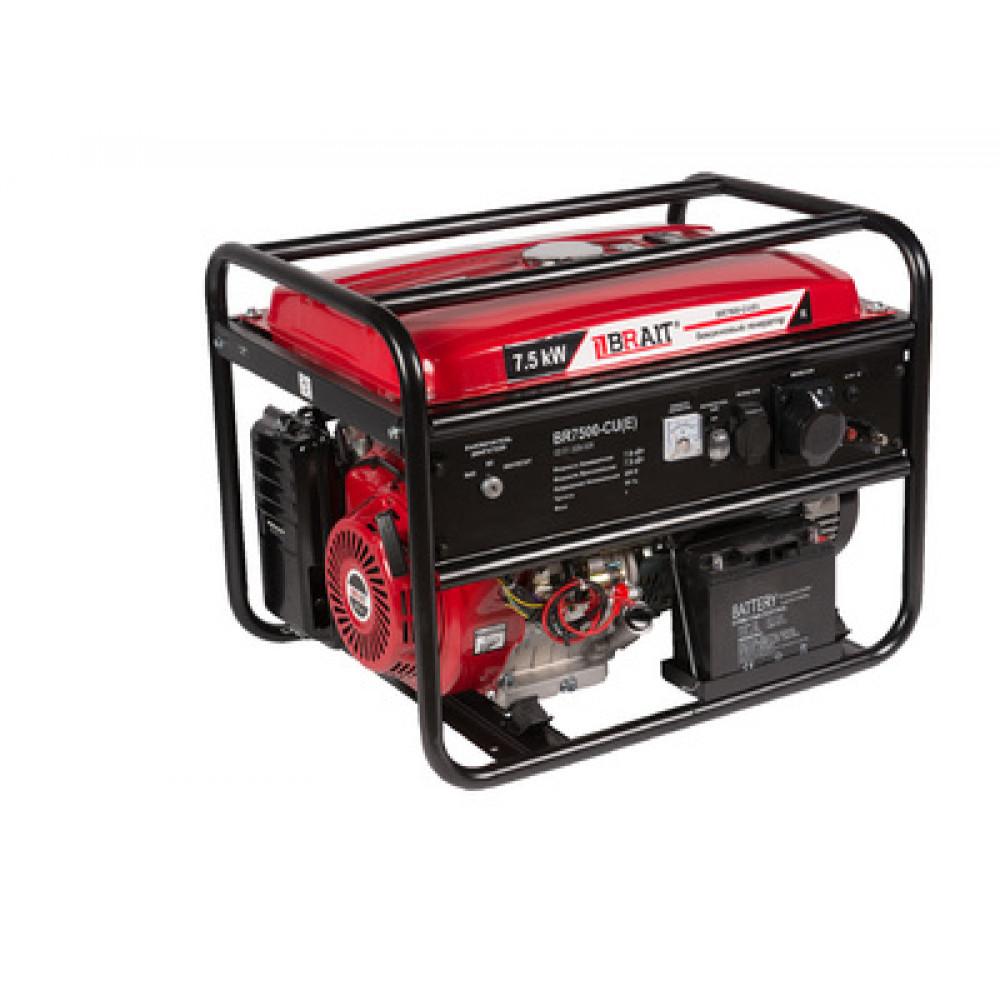 Генератор бензиновый Brait BR7500-CU(Е)