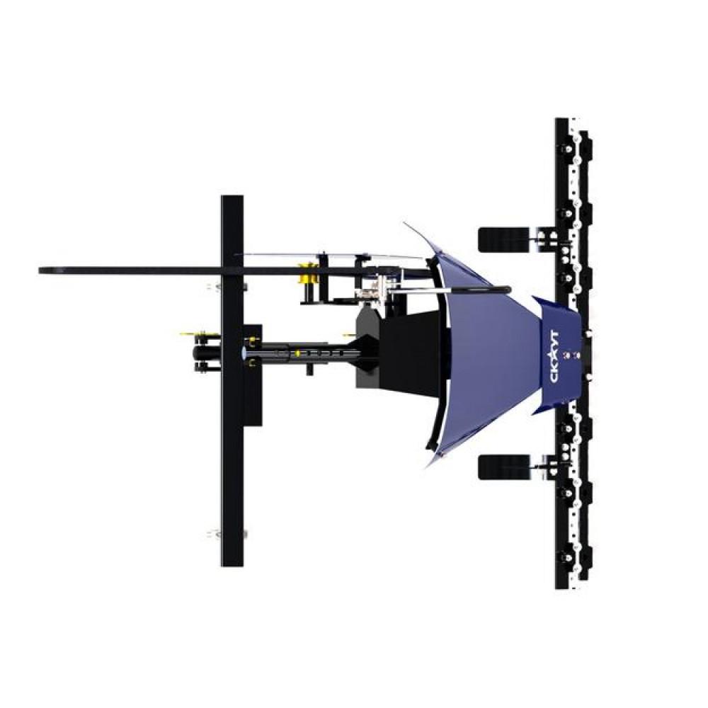 Косилка сегментная фронтальная СКАУТ SM-110 к минитрактору