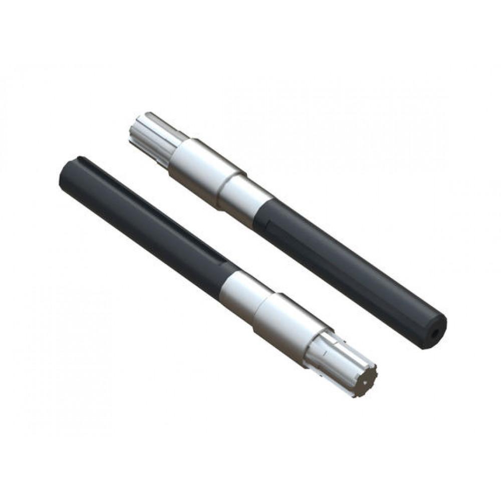 Полуоси мотоблока (L=390 мм D=39 мм), пара