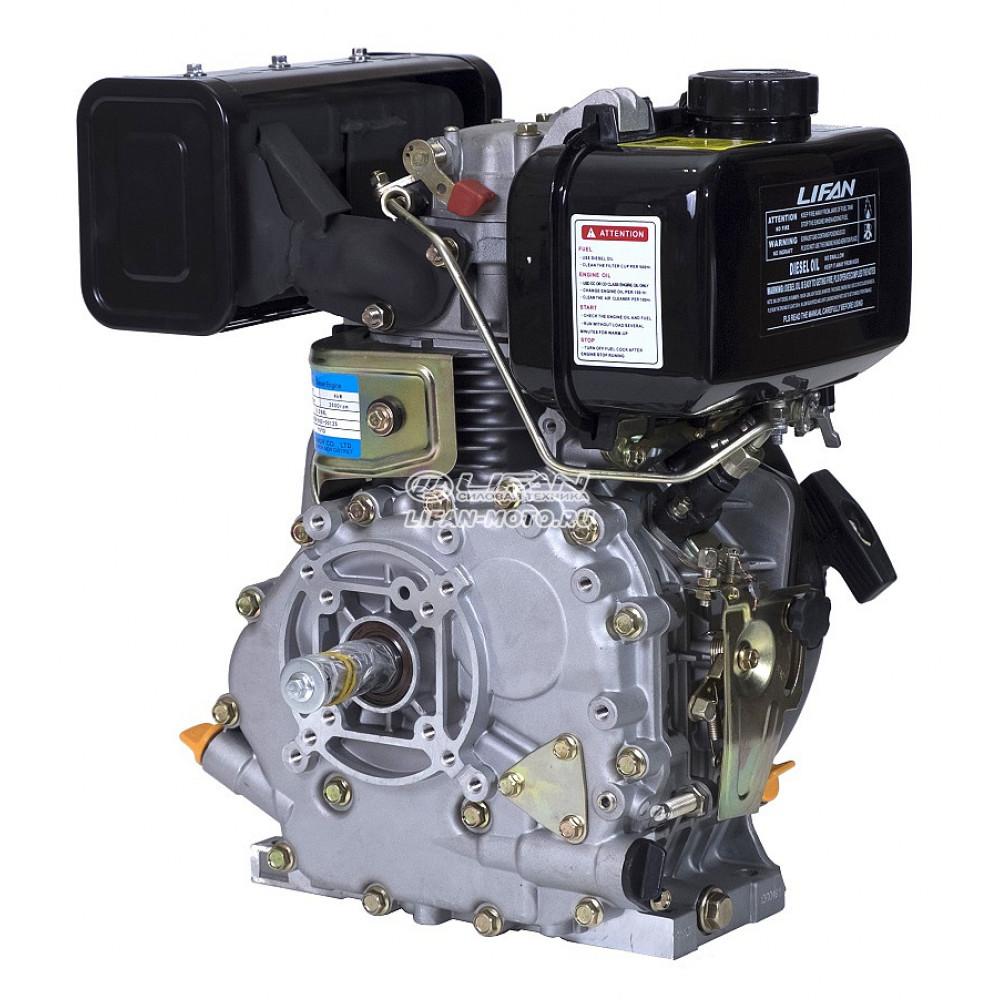 Двигатель Lifan 178F Diesel, вал Ø25 мм