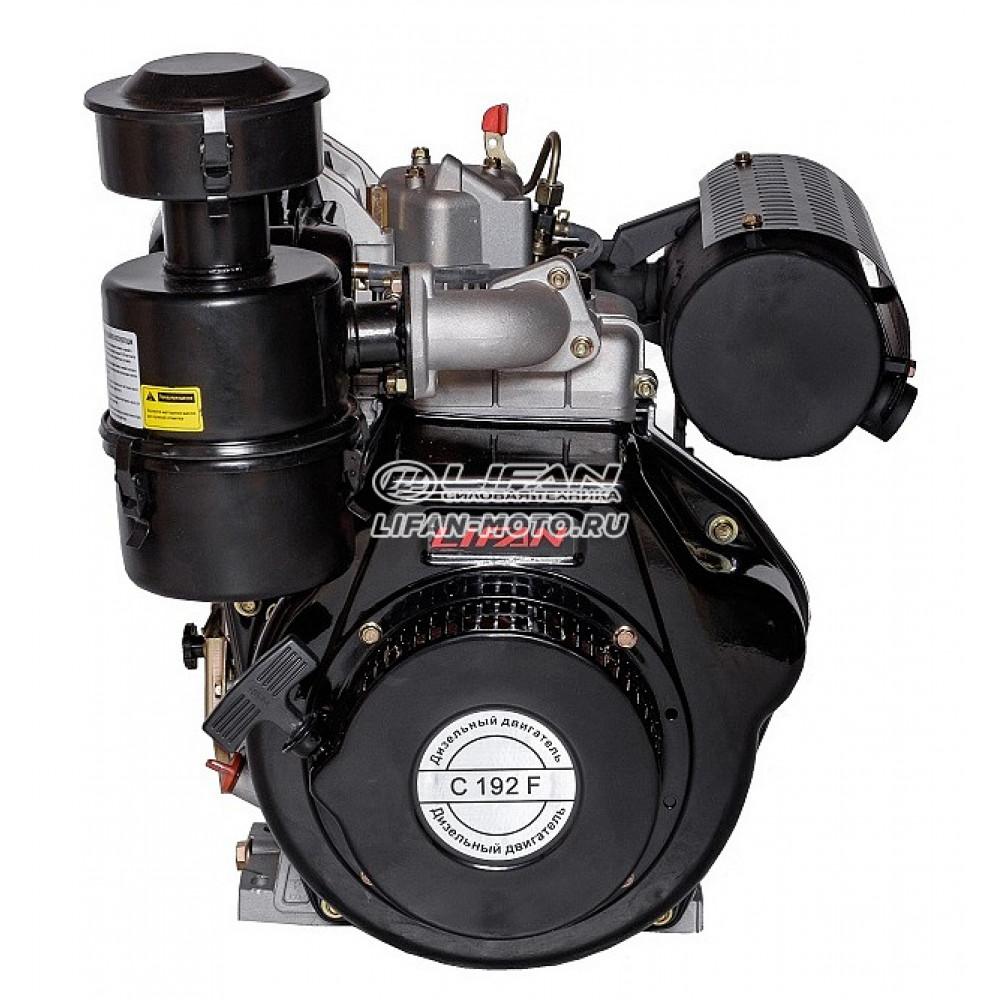 Двигатель Lifan 192F, вал Ø25 мм