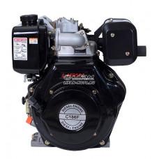 Двигатель Lifan 186F Diesel, конусный вал