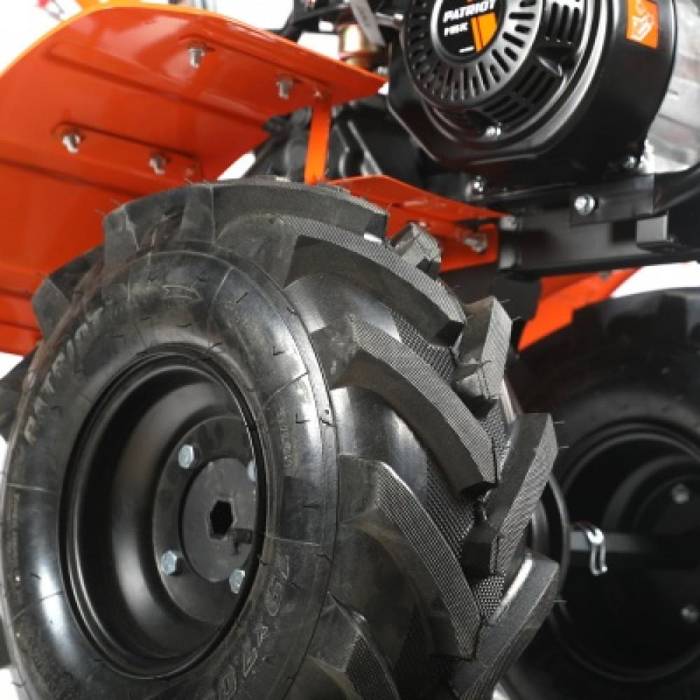 Мотоблок бензиновый Patriot Урал (колеса Extreme)