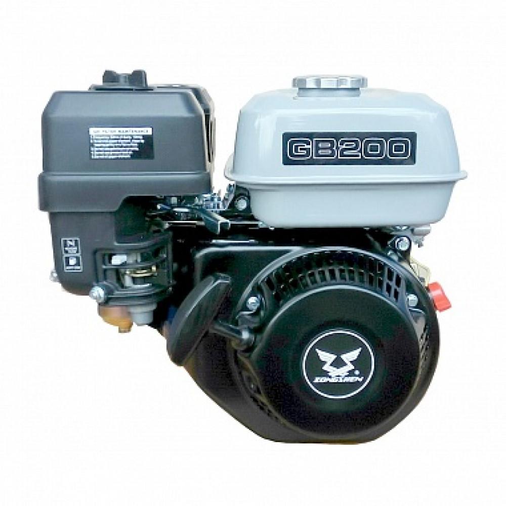 Двигатель бензиновый Zongshen GB 200 (для мотопомп)