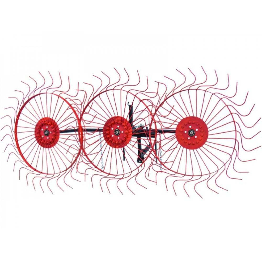 Грабли-ворошилка колёсно-пальцевая