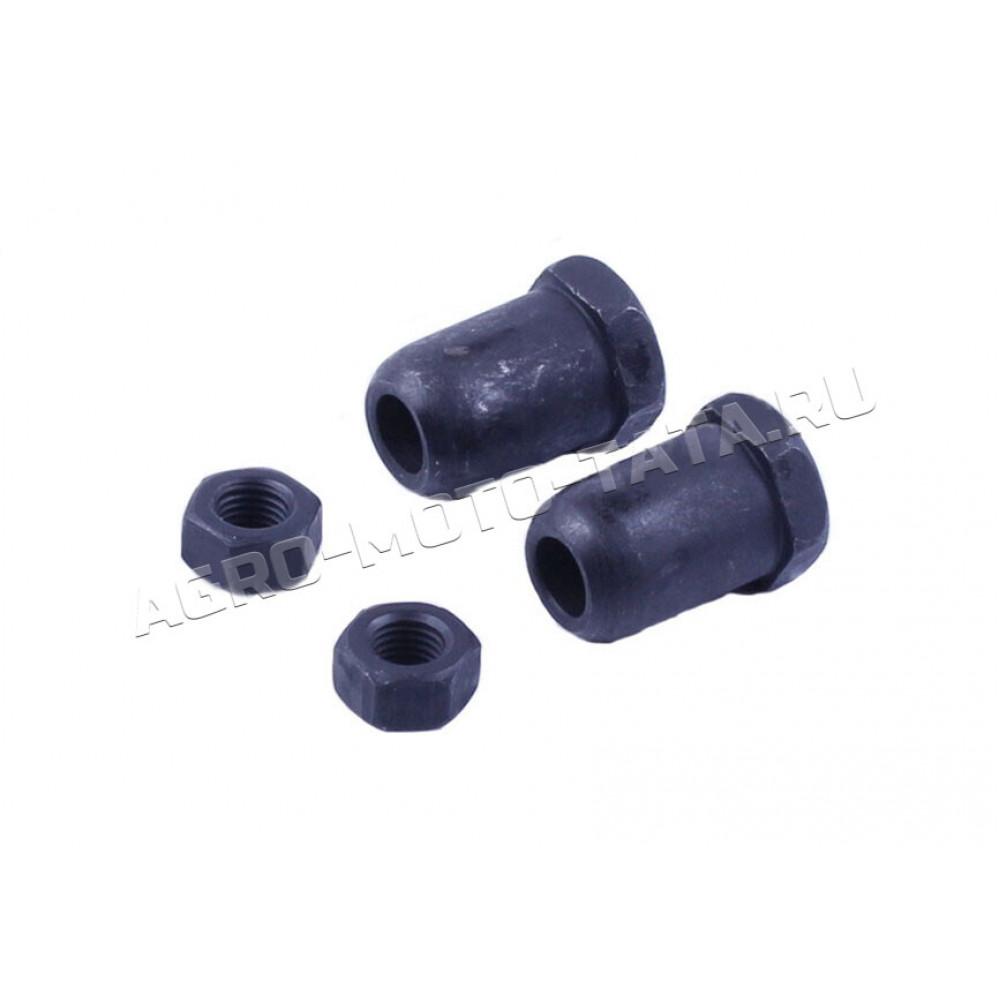 Винт регулировки клапанов с гайкой (2винта+2гайки) - 188F